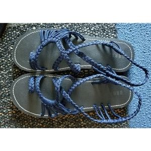 Shoes - Braided strappy sandals